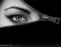 25张感情丰富的黑白肖像摄影