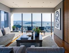 艺术情结:旧金山豪华公寓室内设计