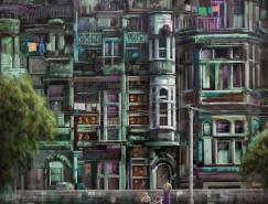 巴基斯坦艺术家waheednasir绘画作品(二)