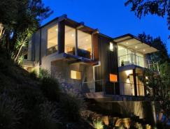 时尚的好莱坞山坡别墅设计