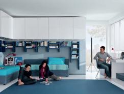 意大利家具制造商MisuraEmme:青少年卧室设计