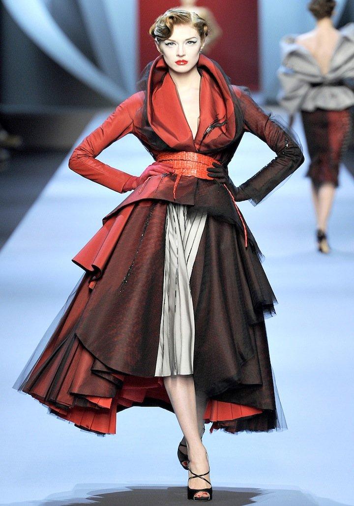 春装_2011春夏Dior高级定制时装秀 - 设计之家