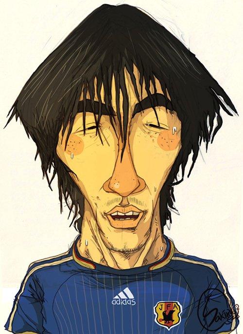人物插画:足球运动员