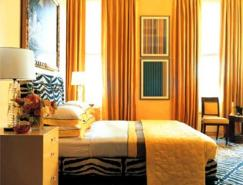 照亮你的心情:黃色調臥室設計欣賞