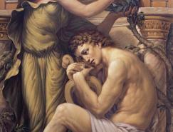 KurtWenner古典主义绘画作品
