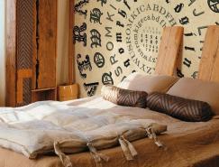 室內裝飾:富有想象力的文字壁紙