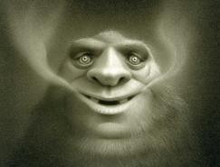 TravisLouie疯狂的怪物插画