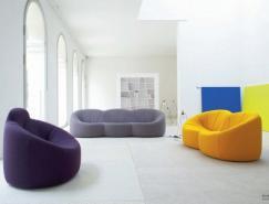 家具品牌LigneRoset:豪華起居室設計