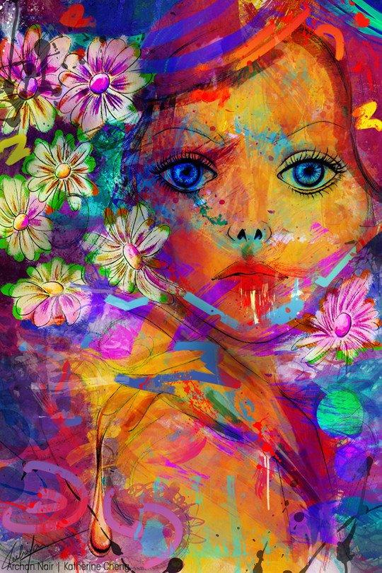 kvv mixed media art - photo #18
