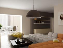 優雅的客廳設計效果圖