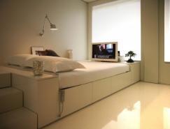 葡萄牙Closet住宅:44平米的小空间大设计
