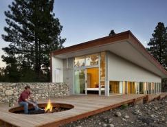 华盛顿Winthrop山坡住宅设计
