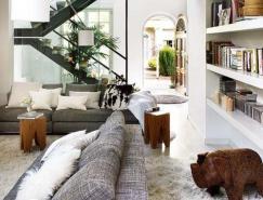 巴塞罗那一套通风明亮的住宅设计