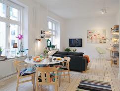 精心布置的40平米小公寓设计