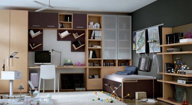 4款不同主题的青少年房间设计