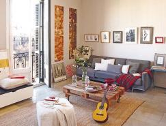充满色彩和吸引力:巴塞罗那安逸的家