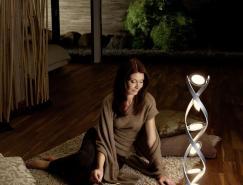 DNA螺旋雕塑:欧司朗PirOLED灯,体育投注