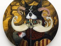 幻想另類:JonathanBergeron油畫作品