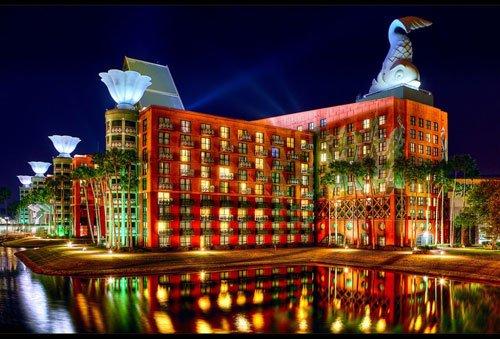 佛罗里达州,沃特迪士尼世界天鹅和海豚度假村酒店