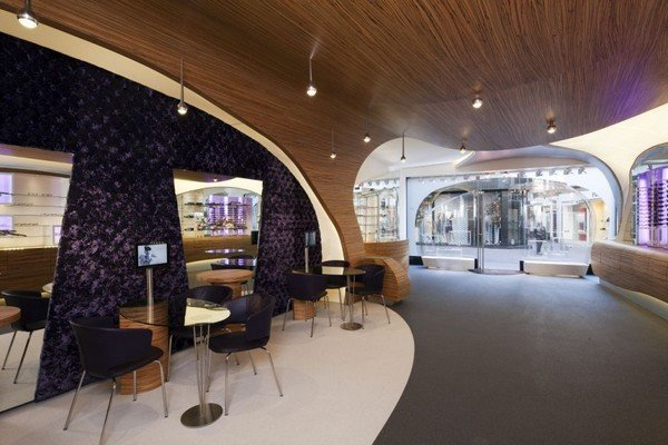 室内设计:荷兰Hofstede眼镜店