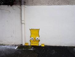 法国OakoAk街头艺术作品
