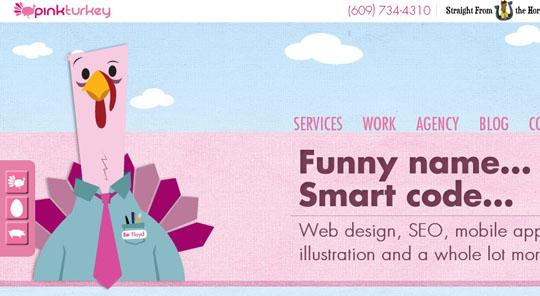 45个使用角色插画的网页皇冠新2网欣赏