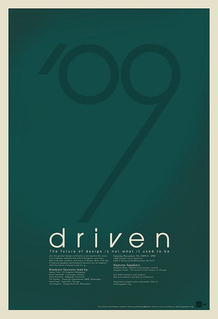 简约最美:50张极简海报设计
