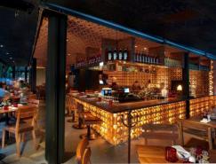 墨西哥城LaNonna餐厅室内设计