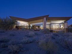 沙漠之翼:亚利桑那州沙漠别墅设计