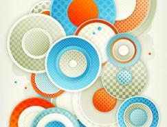 几何形状和线条:美丽的数字艺术作品