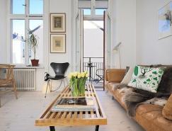 斯德哥尔摩一居室巧妙的室内设计