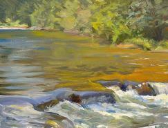 美国画家JeffreyT.Larson:风景画作欣赏