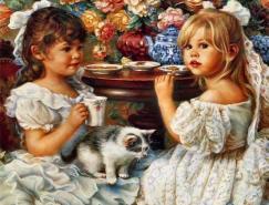 美国女画家SandraKuck:可爱