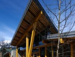 建筑欣赏:加拿大Whistler公共图书馆