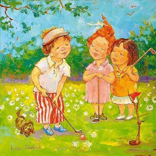 可爱的儿童:kate dudnik绘画作品(8)