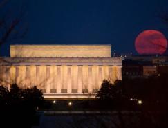 10张完美的超级月亮(Supermoon)摄影图片
