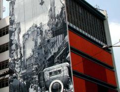 35例国外惊人的墙绘艺术作品