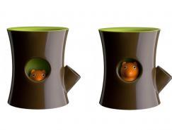 极富创意的松鼠花盆和制约筒