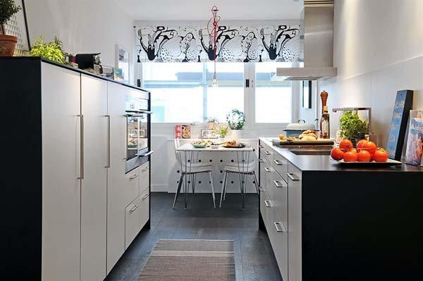温馨简约:哥德堡一套85平米公寓设计