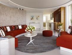 旧金山Fontana公寓室内设计