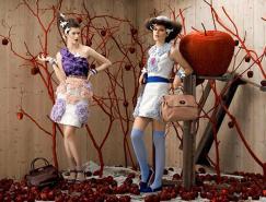 童话般的梦幻感觉:Fendi2011手袋和饰品