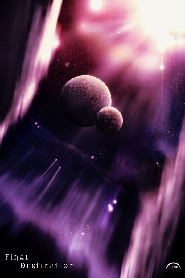 24张逼真的太空概念CG作品