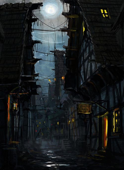 30张幻想建筑CG概念作品