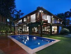 巴西木质结构豪宅设计