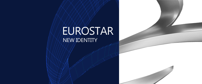 Eurostar(欧洲之星)更新标识