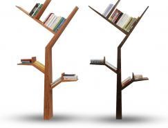KostasSyrtariotis作品:树形书架