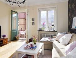 瑞典一套光线充足的公寓室内皇冠新2网
