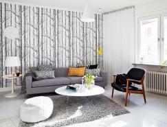 現代瑞典風格公寓設計
