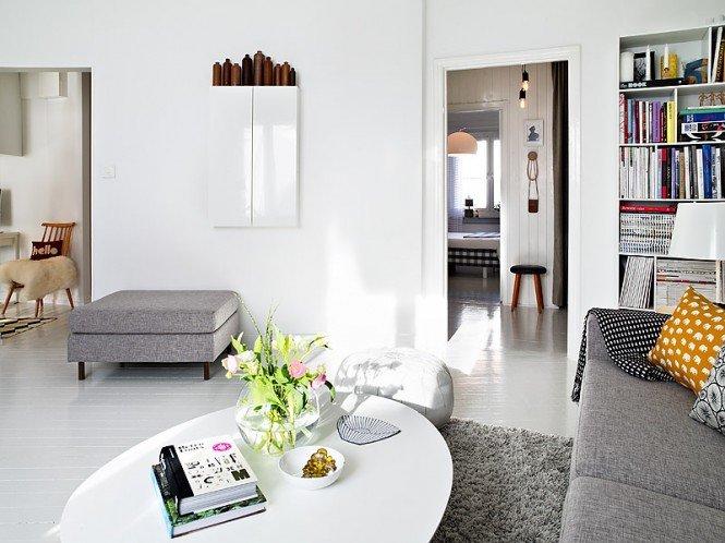 现代瑞典风格公寓设计