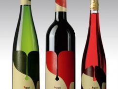 40款时尚的葡萄酒包装设计
